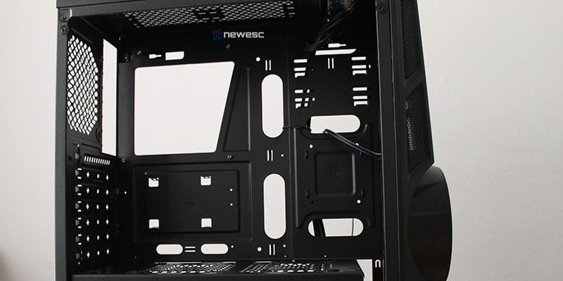 Review aerocool aeroengine interior