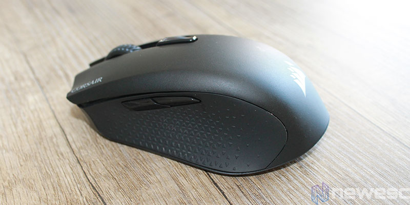 Review corsair harpoom rgb wireless frente