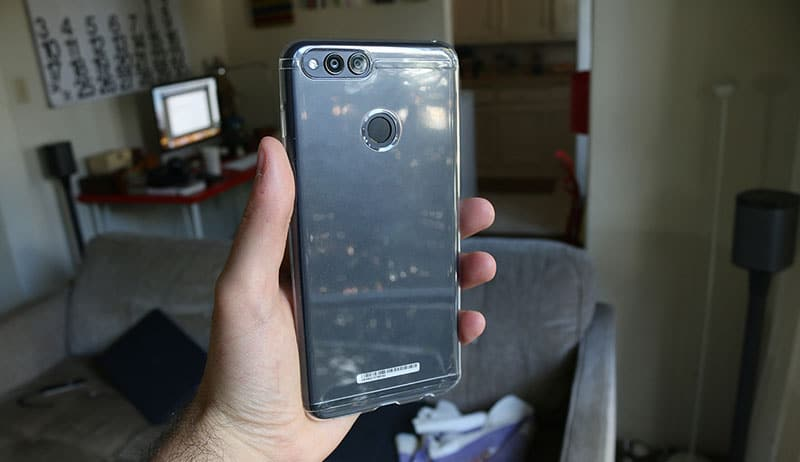 Review honor 7X funda protectora