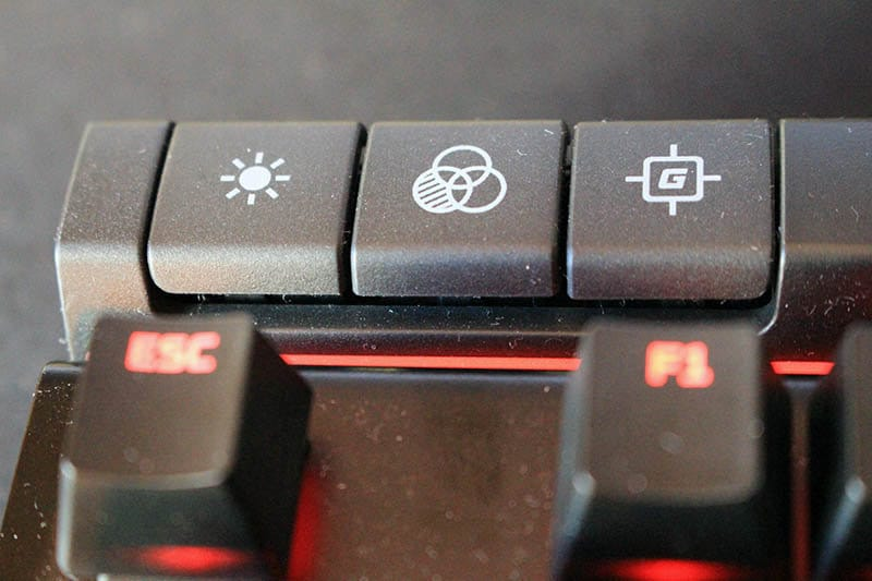 Review teclado HyperX Alloy Elite NewEsc teclas especiales