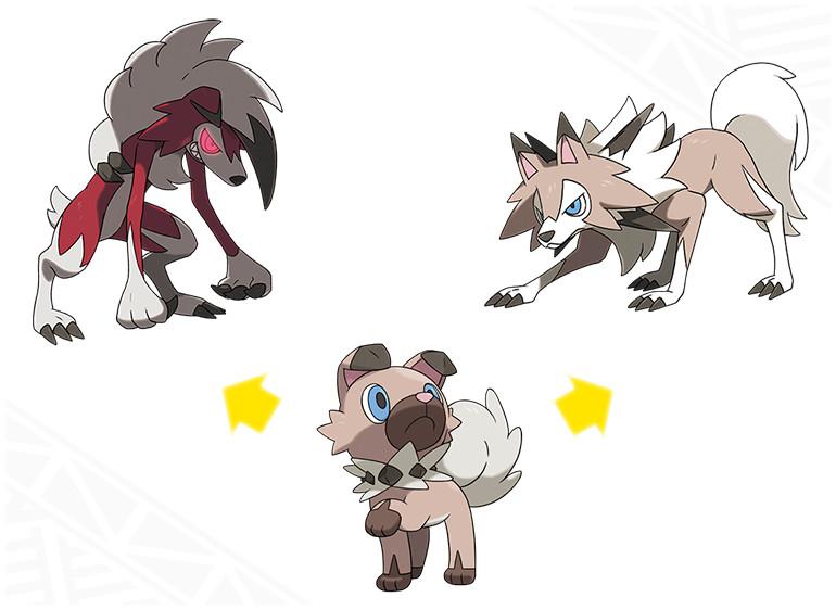 rockruff-evoluciones