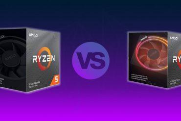 Ryzen 3700X vs Ryzen 3600X