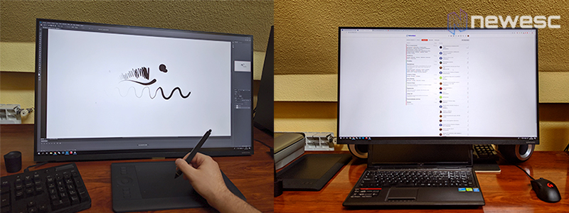 SAMSUNG LS32R750 tableta portatil