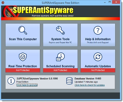 SUPERAntiSpyware antispyware