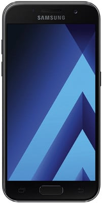 Samsung Galaxy A3 2017 smartphone pequeño