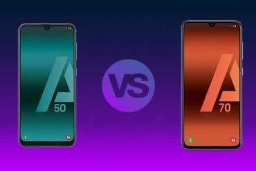 Samsung Galaxy A70 vs A50