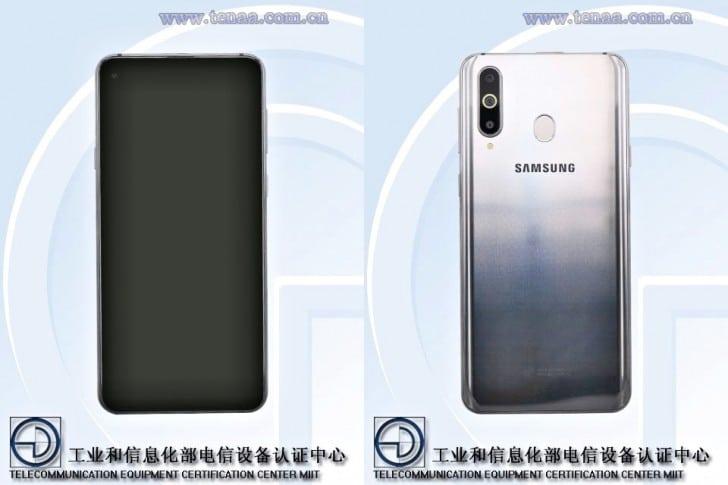 Samsung Galaxy A8s filtrado en TENAA
