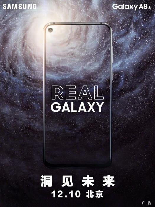 Samsung Galaxy A8s nueva filtración