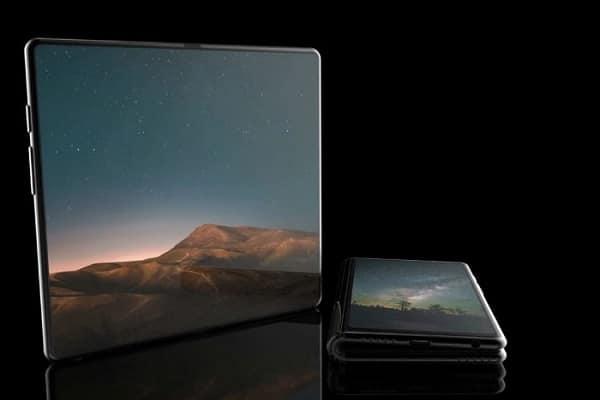 Samsung Galaxy F diseño conceptual