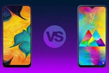 Samsung Galaxy M20 vs Samsung Galaxy A30