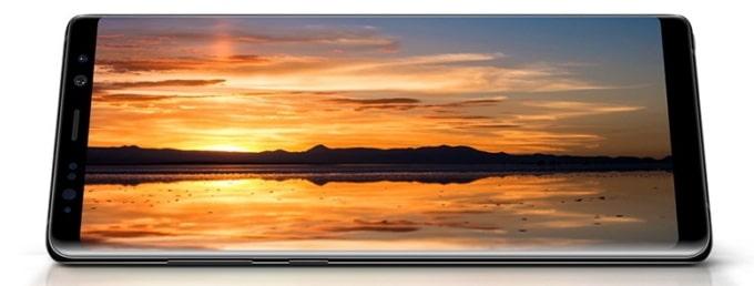 Samsung Galaxy Note 8 pantalla