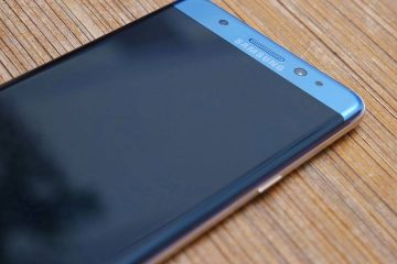 Samsung Galaxy Note 8 con dos versiones