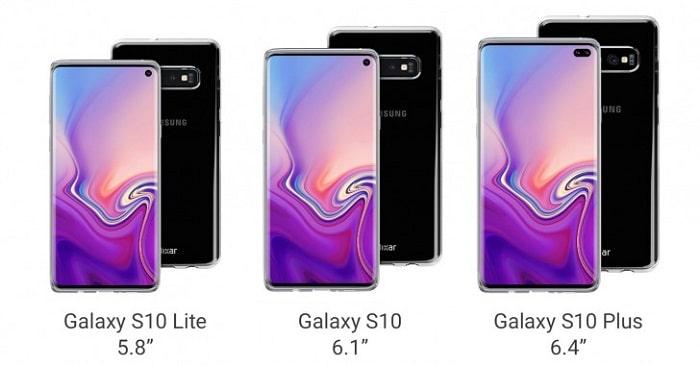 Samsung Galaxy S0 pantallas