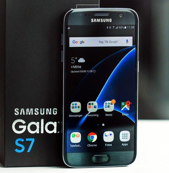 Samsung Galaxy S7 diseño