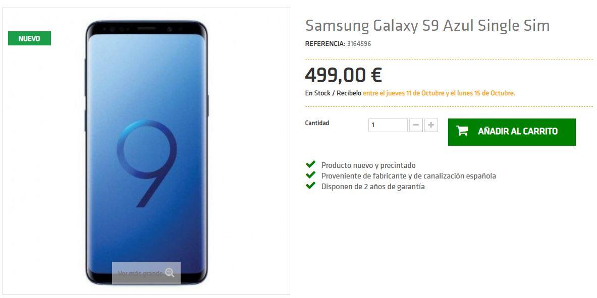 Samsung Galaxy S9 Promoción TuImeilibre