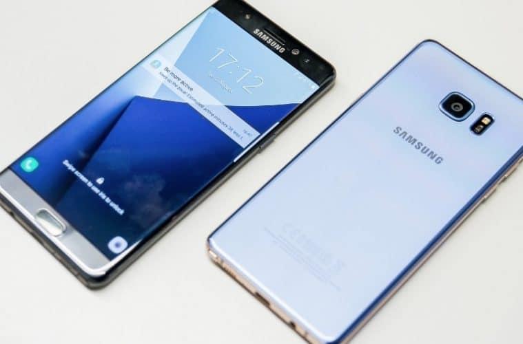 Samsung Galaxy note 8 puntuación filtrada
