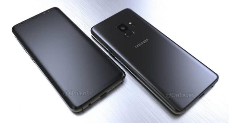 Samsung S9 leaks render
