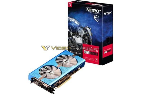 Sapphire Radeon RX 590 NITRO+ con su caja original