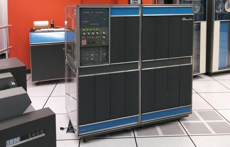 Segunda generacion de ordenadores IBM 1401