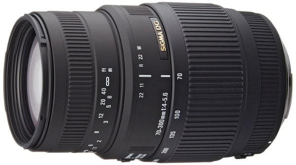 Sigma 70-300 mejores cámaras reflex baratas