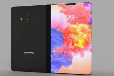 Smartphone Plegable Huawei diseño conceptual