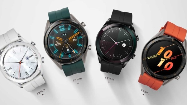 Smartwatch Watch GT Active y Watch GT Elegant