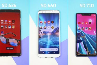 Snapdragon 636 vs SD 660 vs SD 710