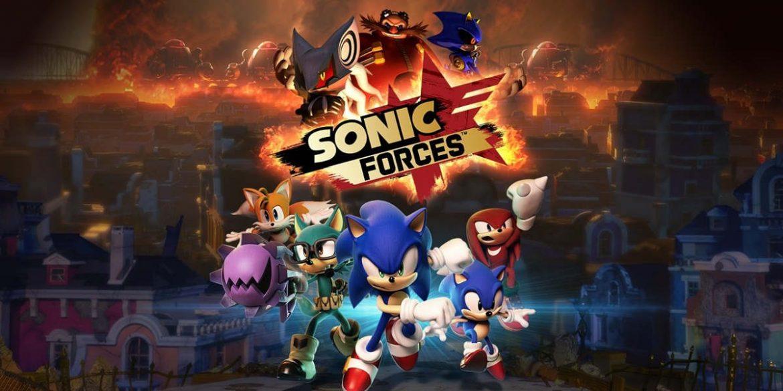 Sonic Forces Portada