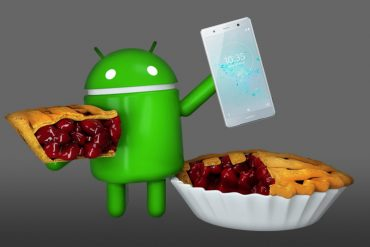 Sony y Android 9 Pie