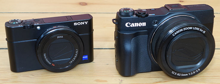 SonyRX100III_and_CanonG1XII