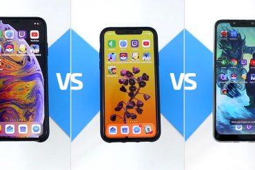 SpeedTest A11 vs A12 vs Snapdragon 845