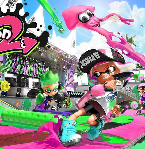 Splatoon 2 Portada