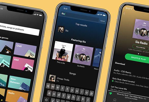 Spotify Premium Actualización móvil
