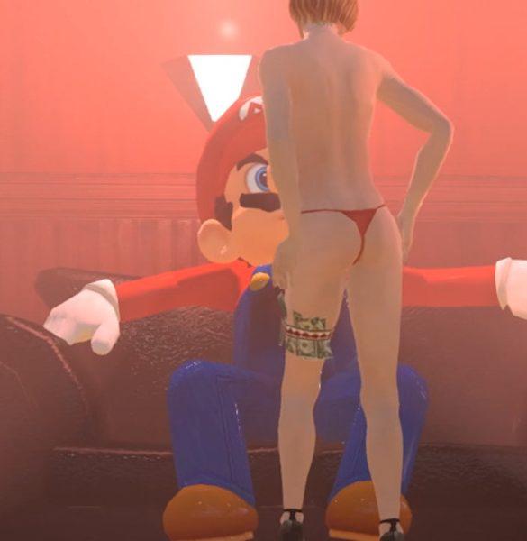 Super mario odyssey GTA IV