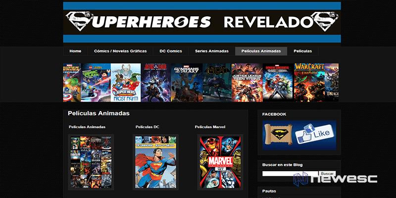 Superhéroes Revelados- descargar cómics gratis