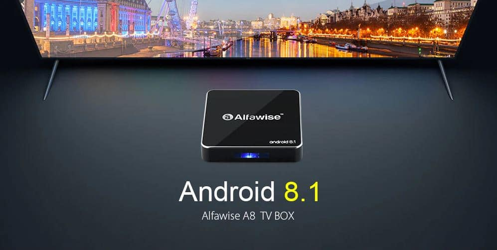TV Box Android Alfawise A8