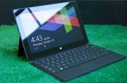 Tablet Microsoft Surface de bajo costo