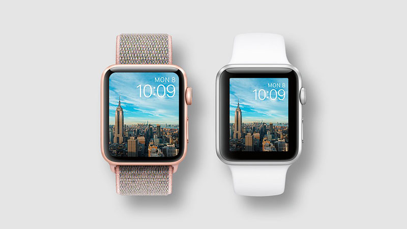 Tamaño de pantallas vs tamaño del reloj Apple watch 3 vs 4