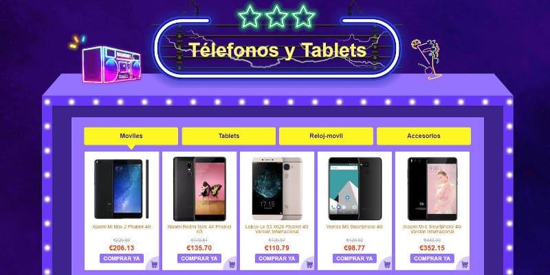 Telefonos GearBest 11.11