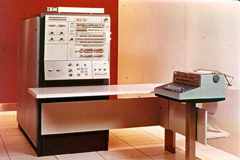 Tercera generaciones de ordenadores IBM 360
