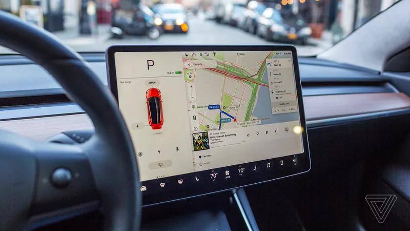 Tesla Software version 9