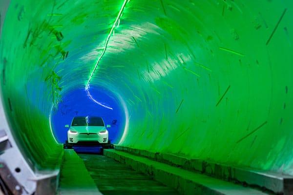 The Boring Company tunel