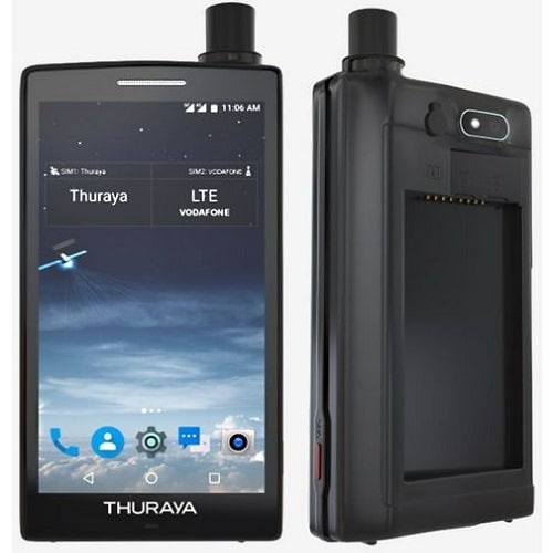Thuraya X5-Touch diseño conceptual