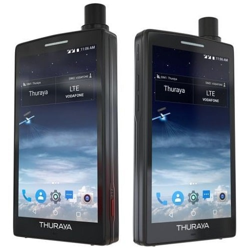 Thuraya X5-Touch diseño frontal