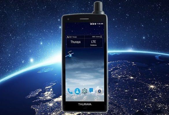 Thuraya X5-Touch diseño promo