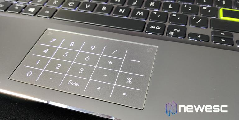 Trackpad calculadora