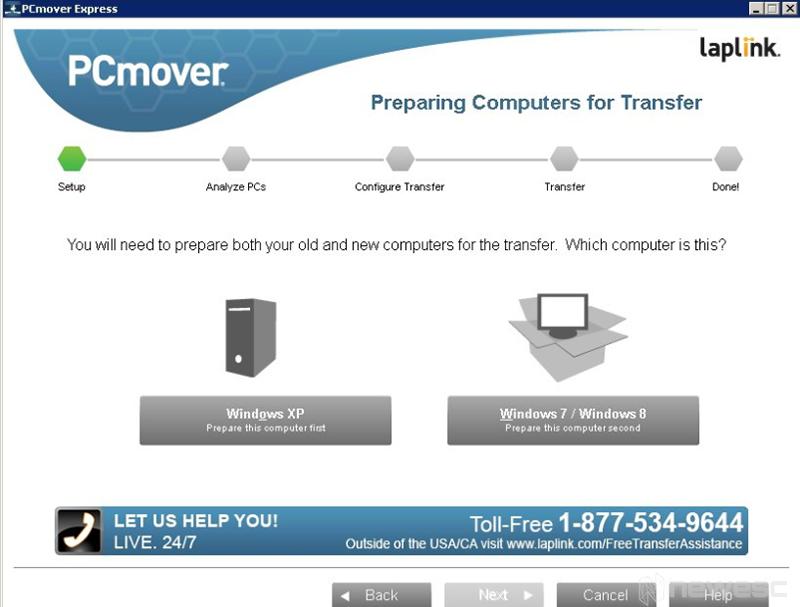 Transfieriendo usuario Windows 10 mediante PC mover