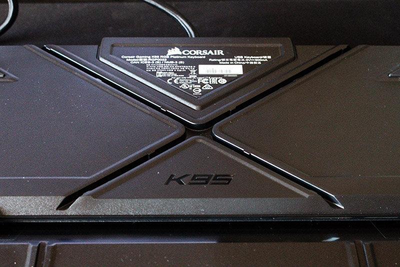 Trasera Corsair K95 RGB Platinum NewEsc