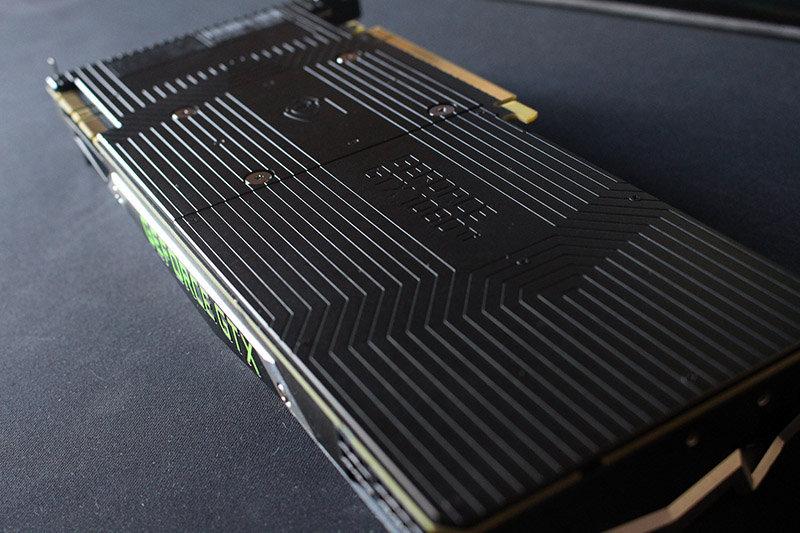 Trasera Nvidia 1080 Ti Founders Edition NewEsc