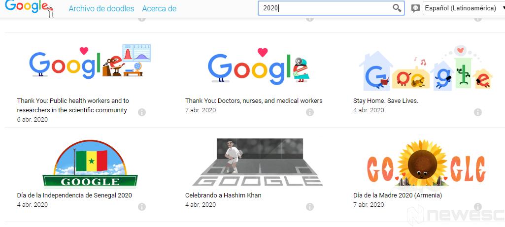 Trucos Google Doodles